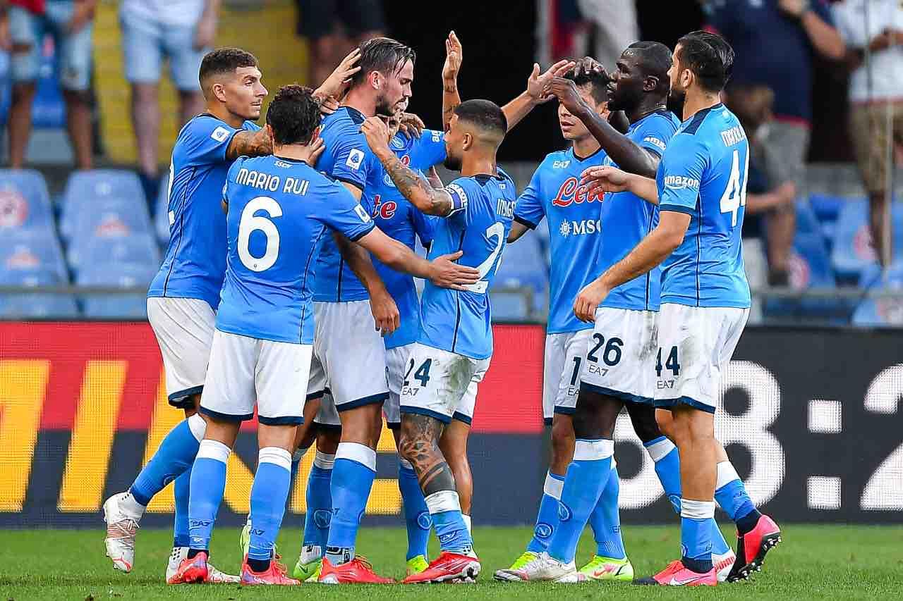 Genoa Napoli 1-2