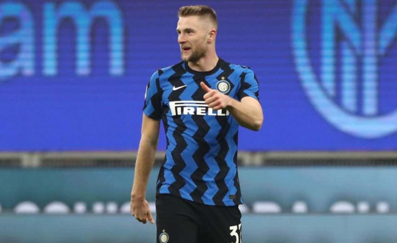 Calciomercato Inter, Jovic erede di Lukaku. scambio con Skriniar