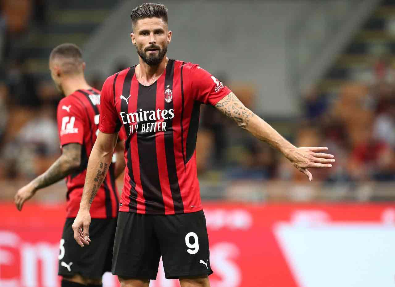 Giroud Milan negativo Covid-19