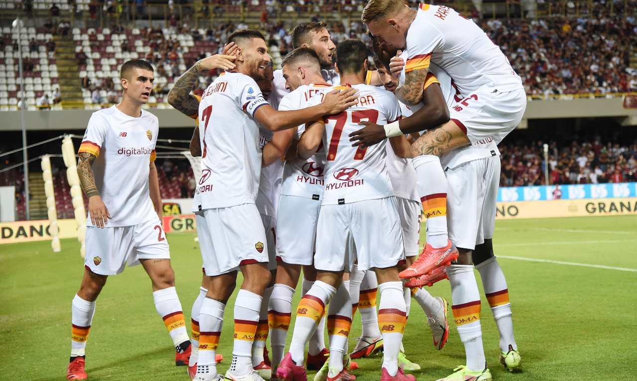Salernitana Roma 0-4