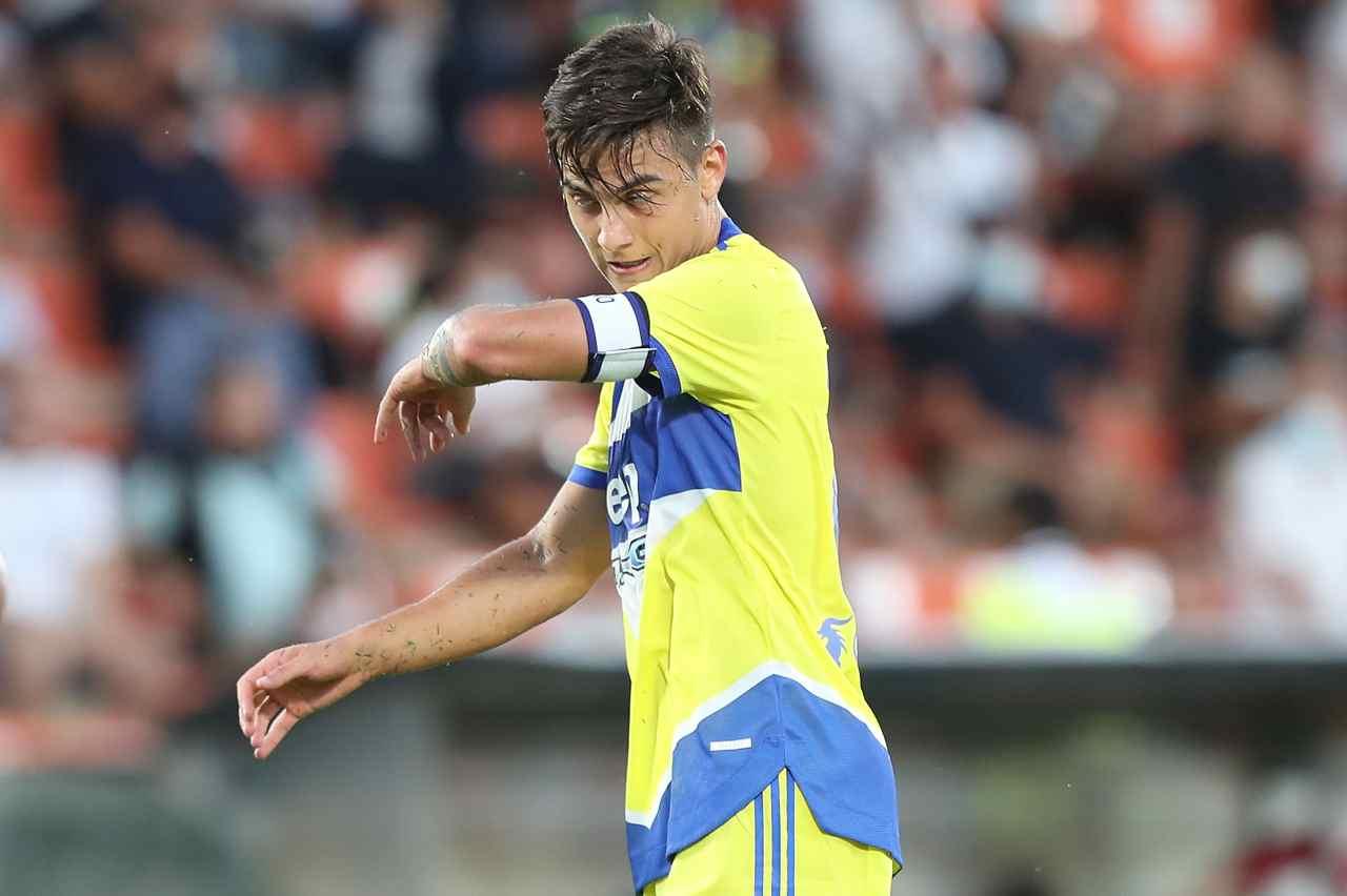 Juventus recupero Dybala