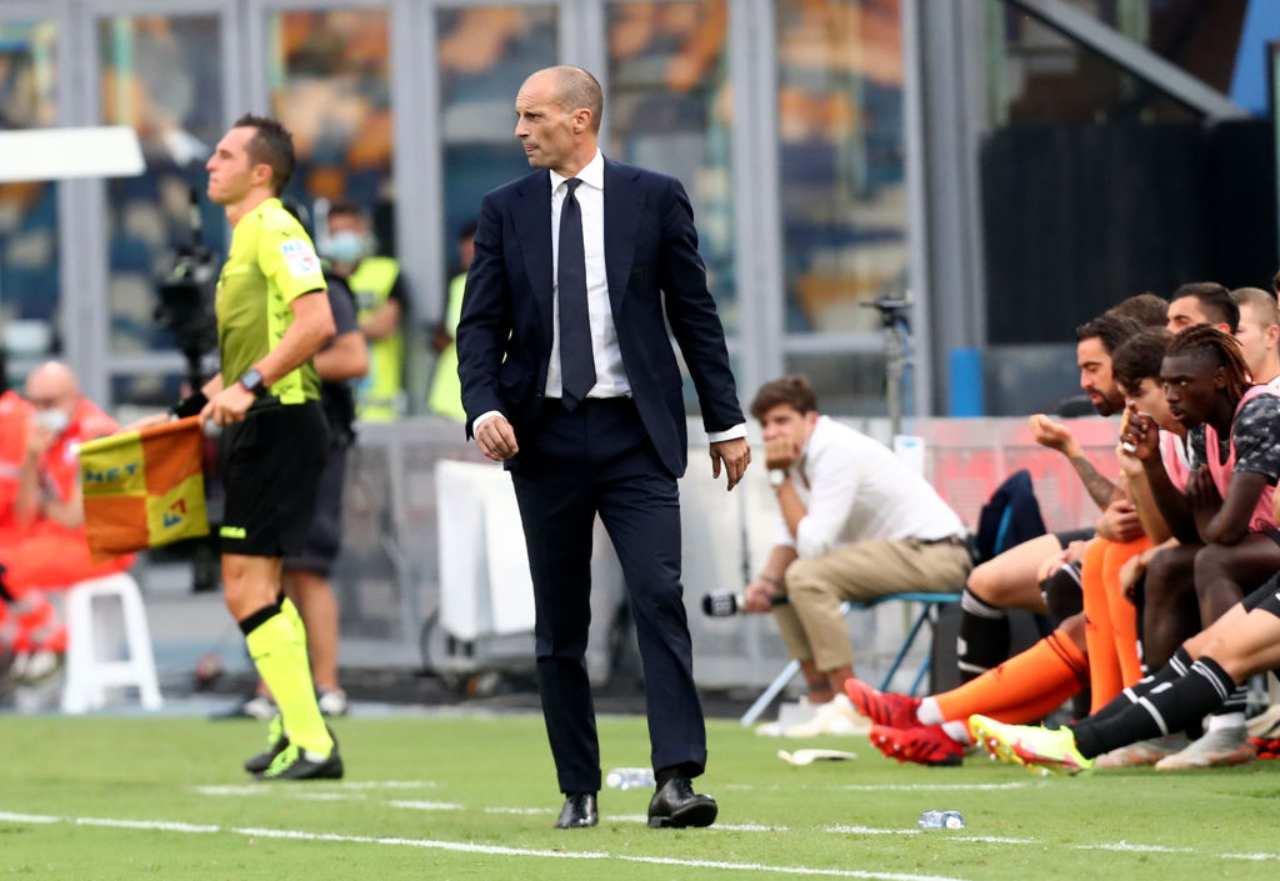 Juventus, Allegri torna in Champions