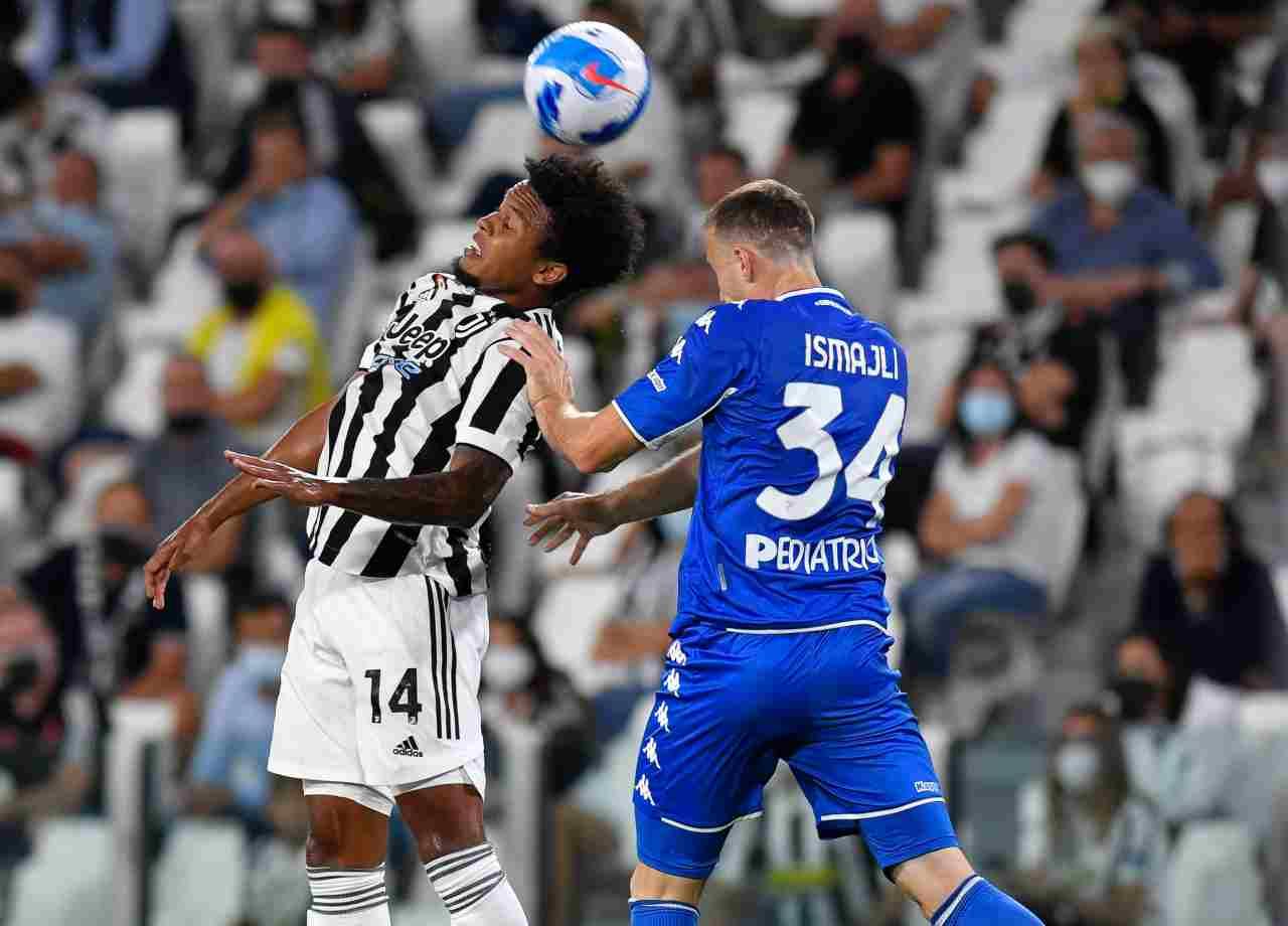 Juventus McKennie Zakaria Roma Napoli