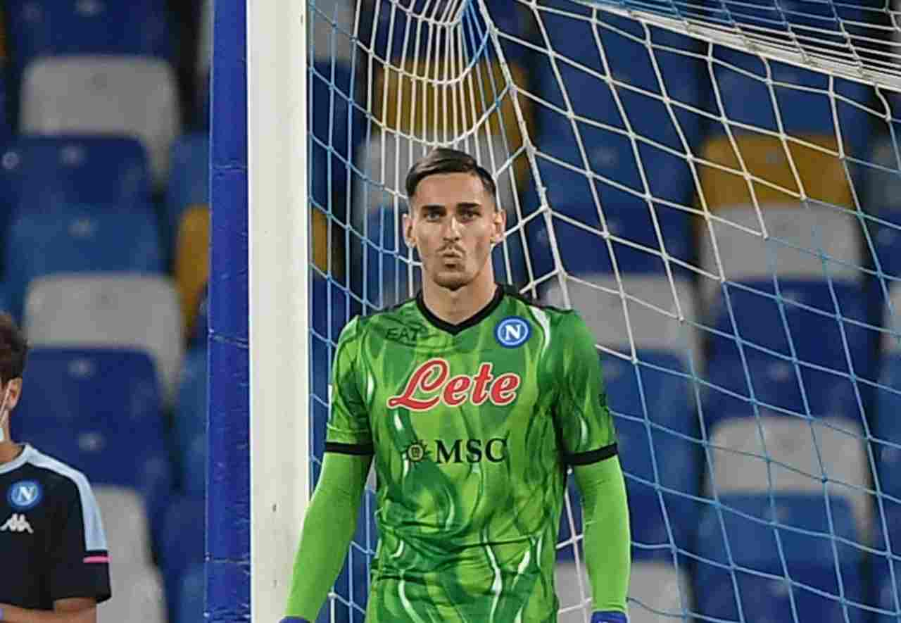 Juventus Szczesny Meret Napoli