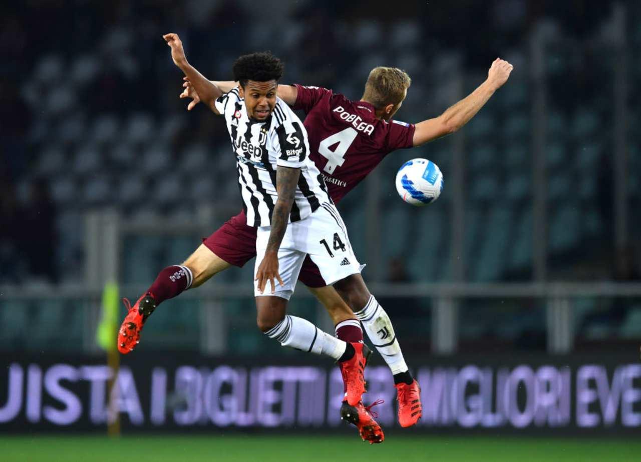 Calciomercato Juve, scambio McKennie: nuovo centrocampista a gennaio