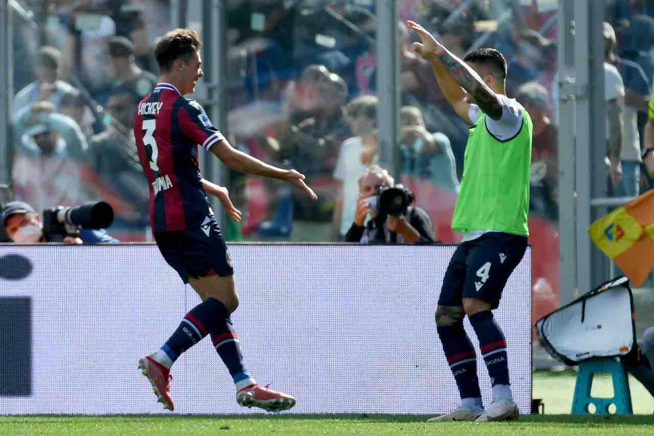 Hickey Bologna Lazio