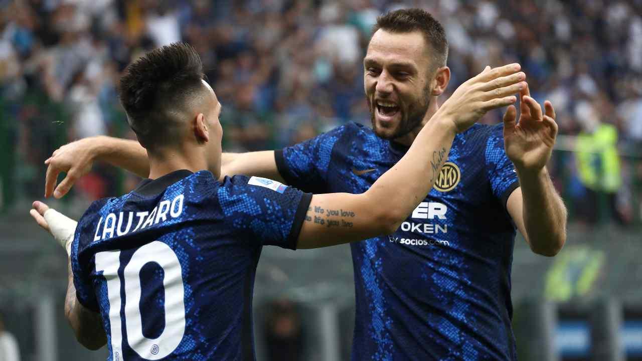 de Vrij Barella Inter Liverpool