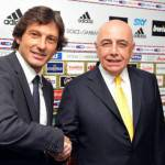 Milan, Galliani: Leonardo? Non gli perdono la parentesi all'Inter