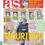 AS: Mourinho ha cinque problemi