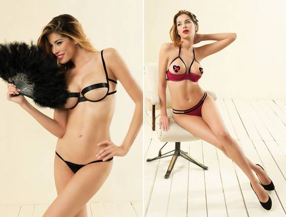 Calendario Aida Yespica.Aida Yespica Lingerie Hot Copertina Calciomercatonews Com