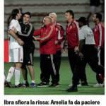 "Al Ahli-Milan, Ibrahimovic è ""caldo"", rissa con il tecnico avversario – Foto"