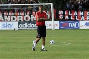 Allegri allenamento8 300x199 Fantacalcio: Milan, ecco i convocati di Allegri, out Nesta, Flamini e Seedorf