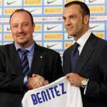 Inter, la mano di Benitez si vedrà solo a fine mese