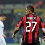 Milan-Arsenal, Boateng bottino pieno: gol, bacio alla Satta e striscione ironico dei tifosi