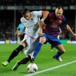 Calciomercato Inter e Juventus, Il Siviglia vuole un'offerta migliore per Caceres