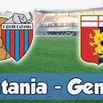 Catania-Genoa: voti, pagelle e tabellino dell'incontro di Serie A