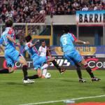 Catania-Milan, moviola: un goal fantasma e due offside inesistenti per i rossoneri, giusto annullare il goal di Gomez