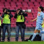 Milan-Napoli, gli azzurri tremano: se oggi ammoniscono Cavani…