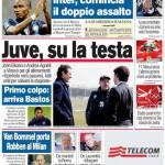 Corriere dello Sport: Juve, su la testa