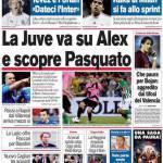 Corriere dello Sport, La Juve va su Alex e scopre Pasquato