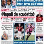 """Corriere dello Sport, Lavezzi: """"Napoli da Scudetto"""""""