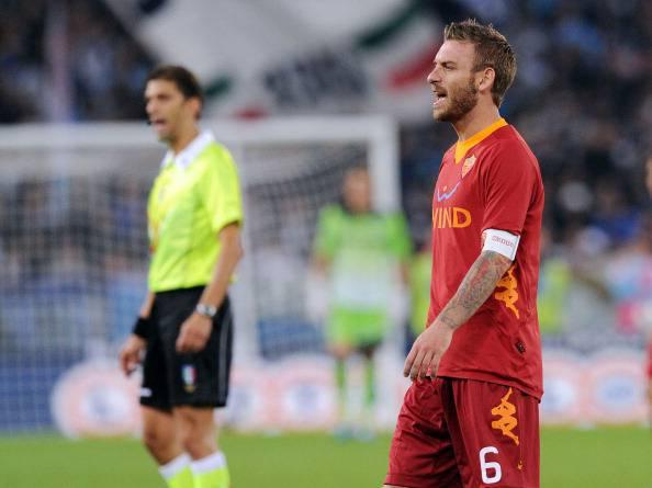 De Rossi107 Calciomercato Roma, De Rossi: al Manchester City con il padre Alberto?
