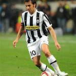 Juventus, per Del Piero ancora panchina