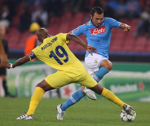 SSC Napoli v Villarreal CF - UEFA Champions League