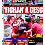 Mundo Deportivo: Cesc acquistato!