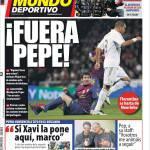 El Mundo Deportivo: Fuori Pepe!