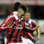 Fiorentina-Milan, Nicchi contro El Shaarawy: rotolò a terra colpito da una granata
