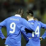 Italia-Brasile, le formazioni ufficiali: Balotelli e Osvaldo, contro Neymar e Hulk