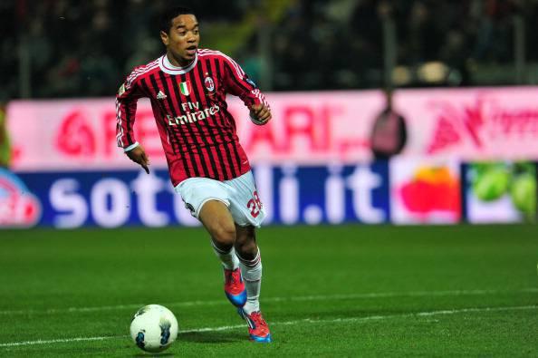 AC Milan's Brazilian  midfielder Urby Em