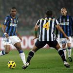 Calciomercato Inter Juventus, Santon, i bianconeri offrono Sissoko e Felipe Melo