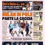 Gazzetta dello Sport, Milan in Pole