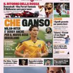 Gazzetta dello Sport: che Ganso!