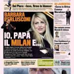 Gazzetta dello Sport, Barbara Berlusconi: io, papà, il Milan e…
