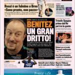 La Gazzetta dello Sport, Milan: Adesso è derby Ancelotti-Milan