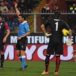 Moviola, Genoa-Milan: rigore ed espulsione corretti