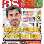 """As: Casillas """"Parlare di Mourinho è fuori luogo"""""""