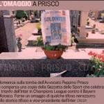 Champions Inter, l'omaggio di un tifoso nerazzurro a Prisco – Foto