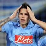 Calciomercato Milan Napoli, De Laurentiis non vuole cedere Hamsik