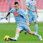 Serie A, Napoli-Genoa 1-0, Hamsik manda i partenopei in Champions