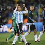 Mondiali 2010: basta Heinze all'Argentina per vincere contro la Nigeria
