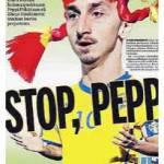 "Ibrahimovic, la stampa finlandese lo paragona a ""Pippi Calzelunghe"" – Foto"