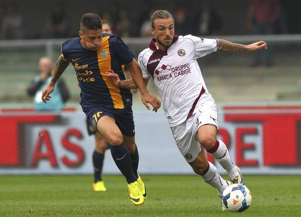 Hellas Verona FC v AS Livorno Calcio - Serie A