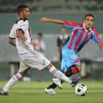 Calciomercato Milan, futuro incerto per Lodi: domani l'agente incontra il Catania