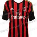 Milan, la nuova maglia 2013-2014 è già online, eccola! – Fotogallery