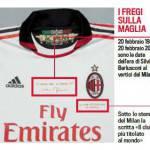 Milan, ecco la maglia celebrativa per il 25 anni di gestione Berlusconi – Foto gallery