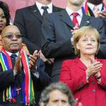 Mondiali 2010, Germania dilaga, Merkel scatenata!